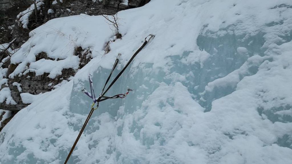 Ice Climbing In Ateni Valley