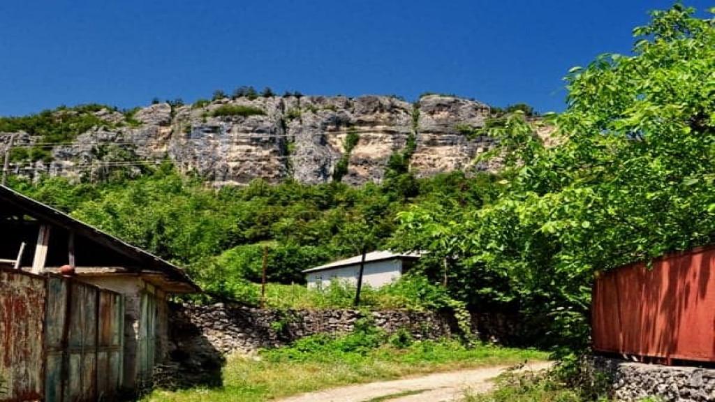 Climbing in Navardzeti(chiatura)