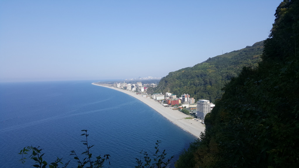 Climbing At The Black Sea Coast